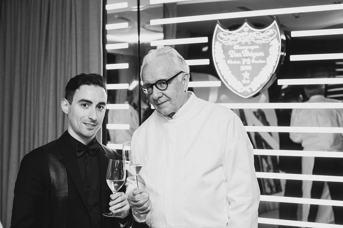 A Talk With: Alain Ducasse & Dom Perignon's Richard Geoffroy