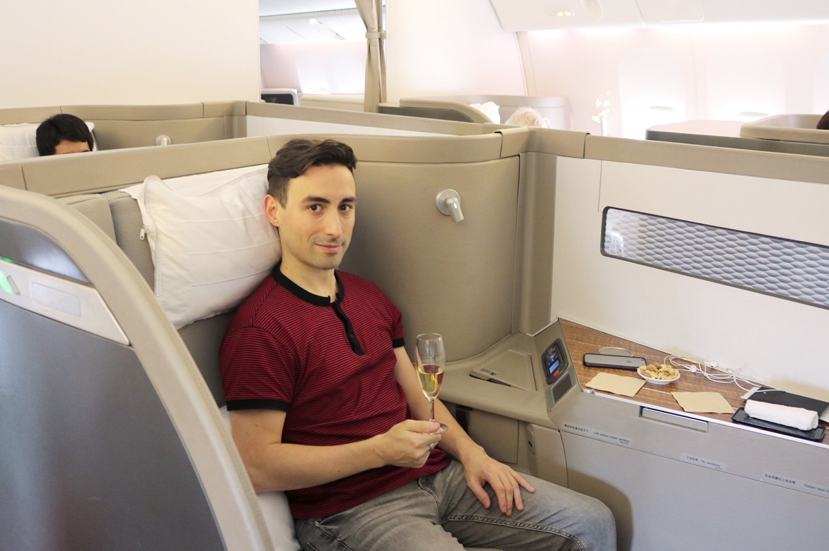 Flying First Class With Cathay Pacific