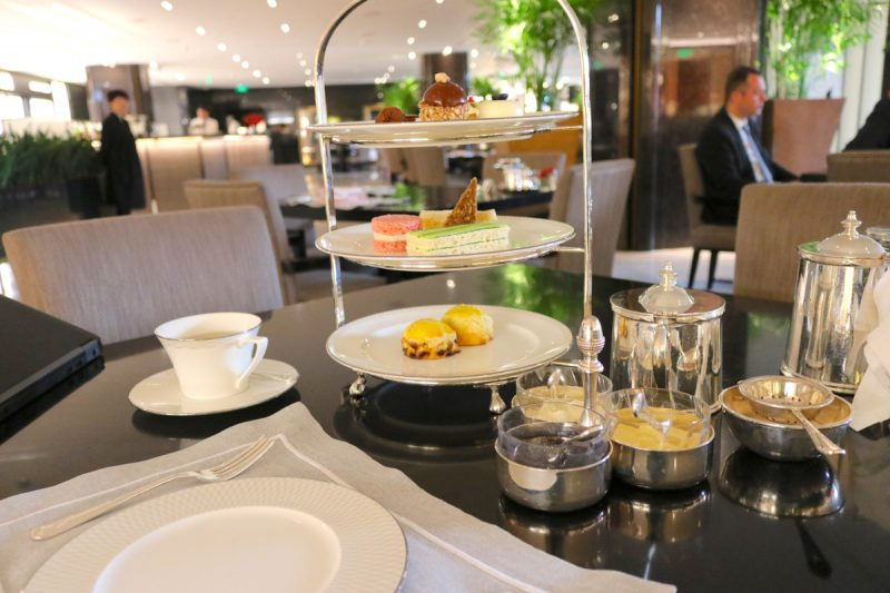 Afternoon tea at The Lobby