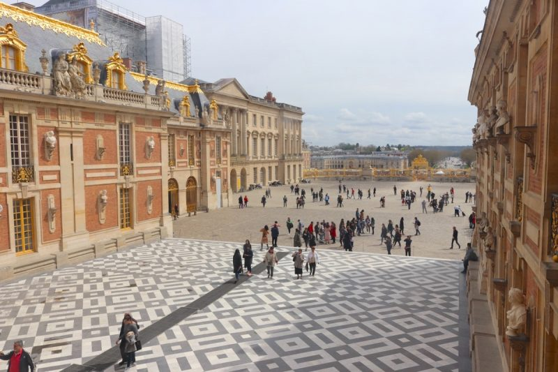 Palace of Versailles entrance