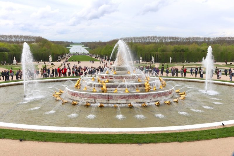 Grande Perspective of Fountains